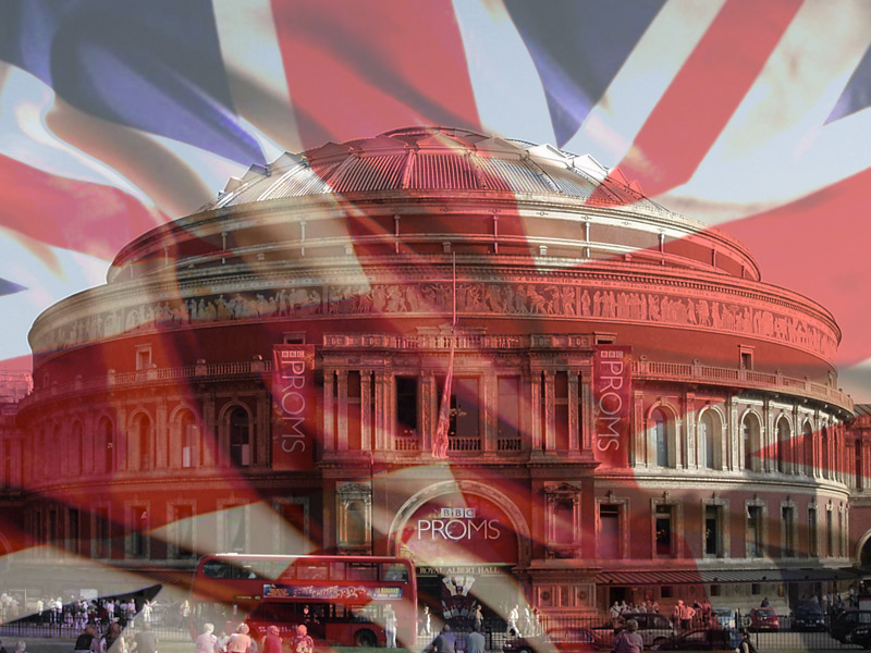 England feiert sich mit der Last Night of the Proms