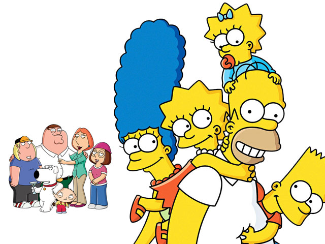 Family Guy Meets the Simpsons