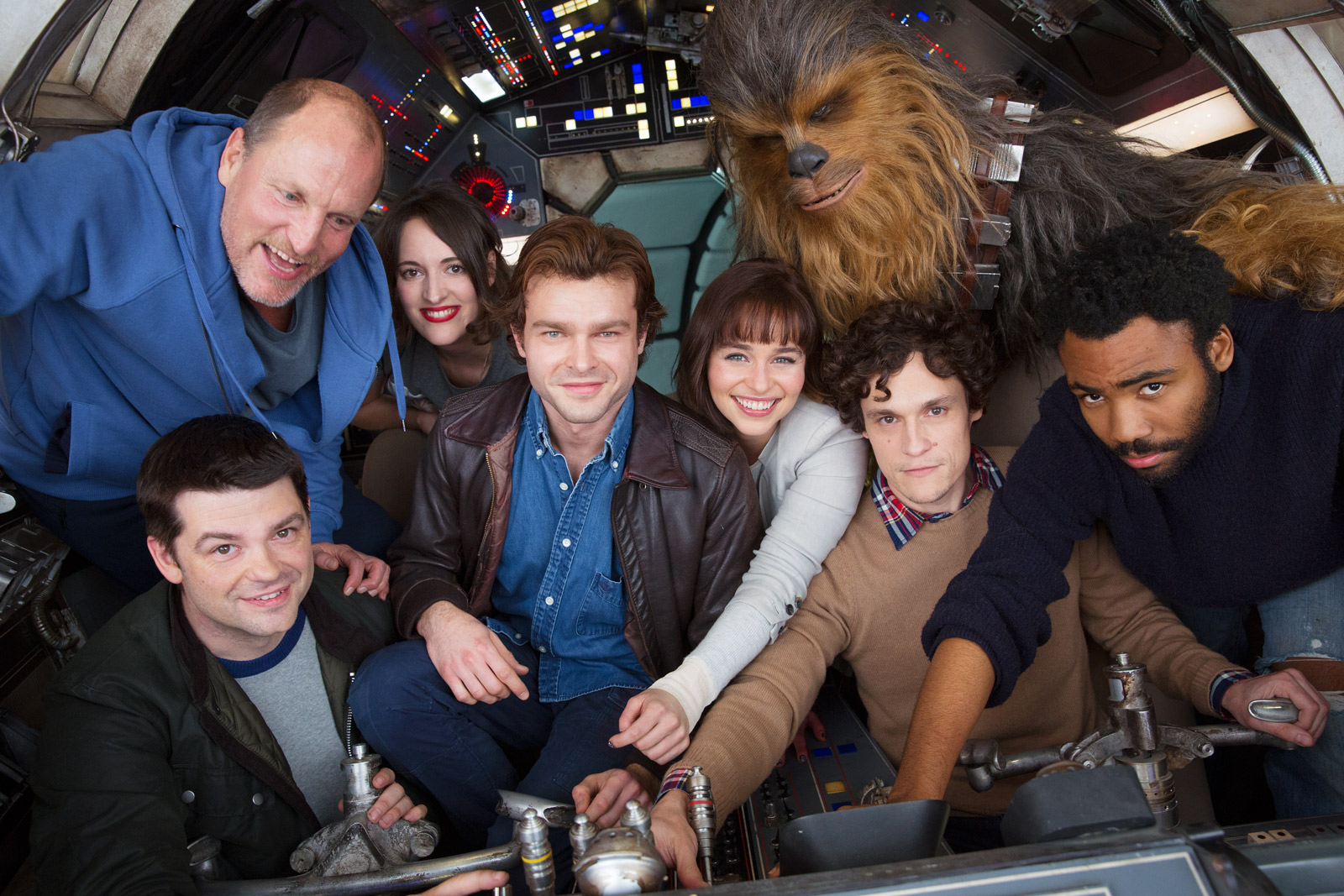 Han Solo: Star Wars Stand Alone - Cast